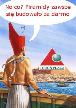 Piramidy buduje darmowa siła robocza