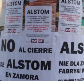 International Workers Association / Asociación Internacional de los Trabajadores (IWA-AIT) ,Anarquismo,Anarquistas,Anarquistas,Anarquía,Libertario,Anarcosindicato,Výzva CNT k akciám proti plánu firmy Alstom zatvoriť továrne v Španielsku  Francúzska spoločnosť Alstom je globálnym lídrom v energetických a dopravných systémoch so zastúpením v zhruba 100 krajinách, vrátane Slovenska a Česka. Poznáme ju napríklad vďaka vlakom Pendolino, ktoré vyrába v Taliansku. V Španielsku plánuje onedlho prepustiť 373 ľudí a zatvoriť tri továrne. Členovia zväzu CNT pôsobiaci v jednej z nich v meste Coreses vyzývajú k vyjadreniu nesúhlasu s týmto plánom. Priama akcia sa pripája a ak sa chceš pridať aj ty, čo najskôr nás kontaktuj. Keďže v pondelok 15.4. sa uskutoční ďalšie vyjednávanie, už teraz môžeš poslať firme protestný e-mail cez formulár na našom webe alebo fax. Read more » Posted by Akai at 13:39 No comments: Email ThisBlogThis!Share to TwitterShare to Facebook Labels: CNTE, pa, slovenčina Acciones de solidaridad con los trabajadores de Alstom en España   El 15 de abril empiezan las negociaciones sobre el futuro de las fábricas de Alstom en España. 373 trabajadores pueden perder su trabajo debido a los cierres previstos. Los compañeros de la Sección Sindical de la CNT Zamora en Alstom nos informaron de la situación. Decidimos actuar en solidaridad con los trabajadores. Pegamos carteles en todas las calles alrededor de la sede de Alstom en Polonia, en Varsovia. Enviamos faxes a Alstom en Polonia, España y Francia. Publicamos información sobre la situación y pedimos el envío de correos electrónicos a Patrick Kron en la sede de la empresa. Read more » Posted by Akai at 13:31 No comments: Email ThisBlogThis!Share to TwitterShare to Facebook Labels: español, ZSP Solidarni z pracownikami Alstom   15 kwietnia zaczynają się negocjacje w sprawie zamknięcia dwóch fabryk firmy Alstom w Hiszpanii. Alstom to duża międzynarodowa korporacja. W tych fabrykach zajmowano się produkcją wiatraków d