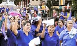 Marsz kobiet przeciwko przemocy