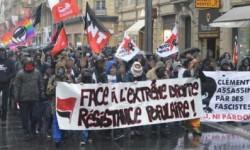 Demonstracja w Tuluzie