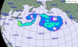 Propagacja radioaktywnej chmury