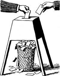śmietnik wyborczy